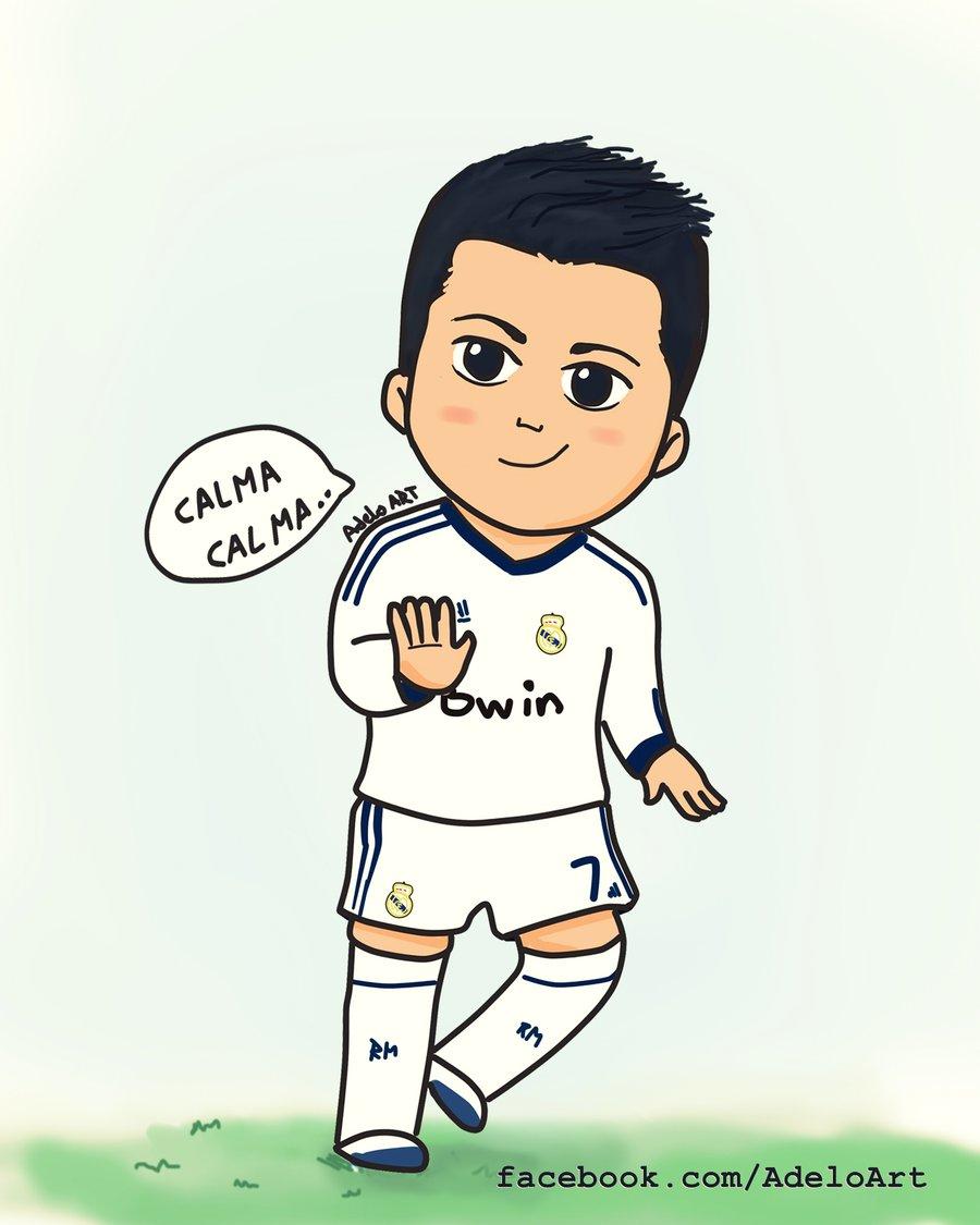 900x1125 Cristiano Ronaldo Cartoon Drawing