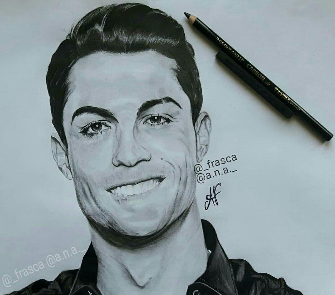 1080x951 Nice Drawing Of Cristiano Ronaldo Goodnight Photos