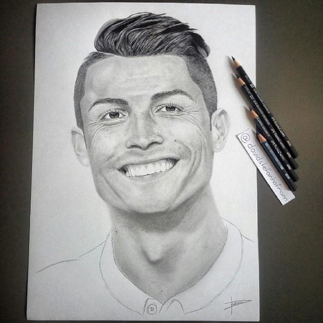 ronaldo drawing at getdrawings  free download