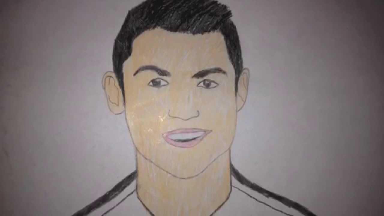 1280x720 How To Draw Cristiano Ronaldo