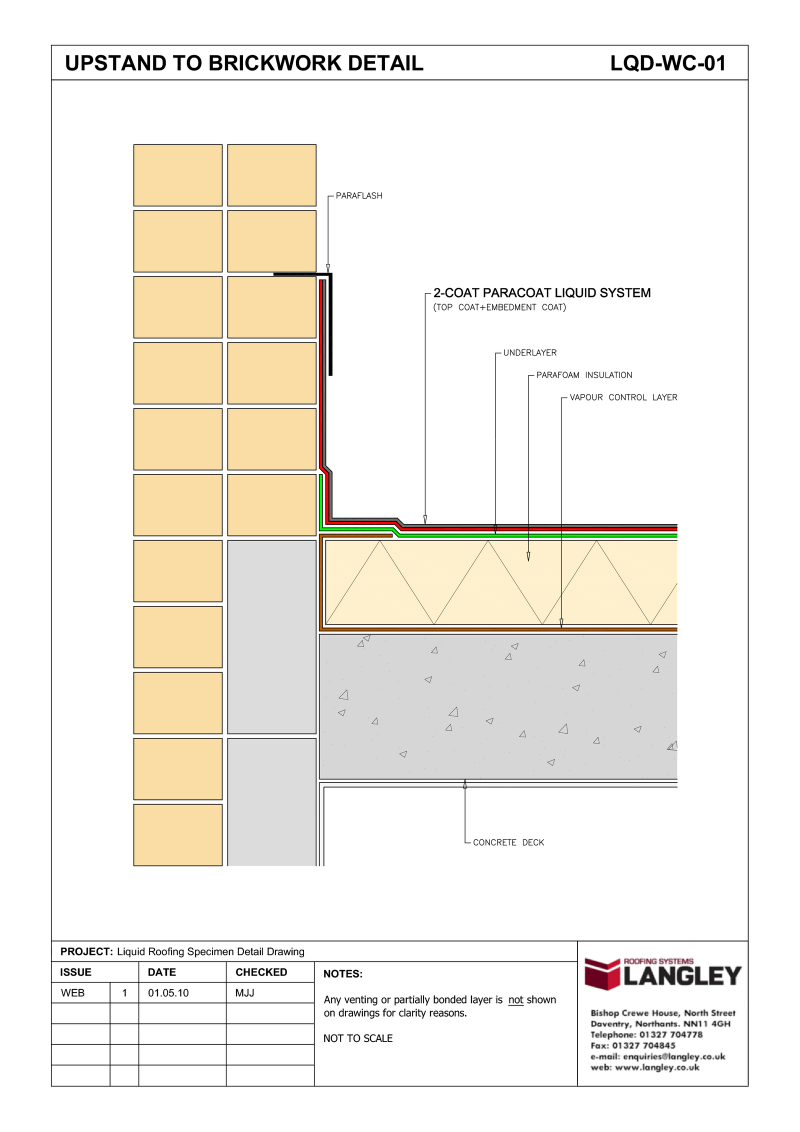 800x1132 Detail Drawings Langley Waterproofing Systems Limited A Second