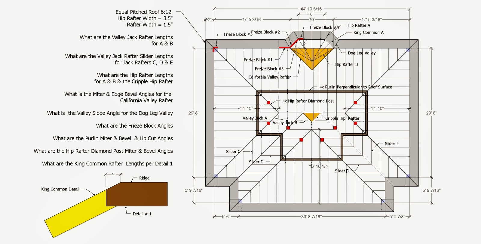 1600x811 Roof Framing Geometry Hip Amp Valley Roof Framing Example