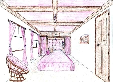 450x327 Bedroom Perspective Best One Point Perspective Room Ideas On Room