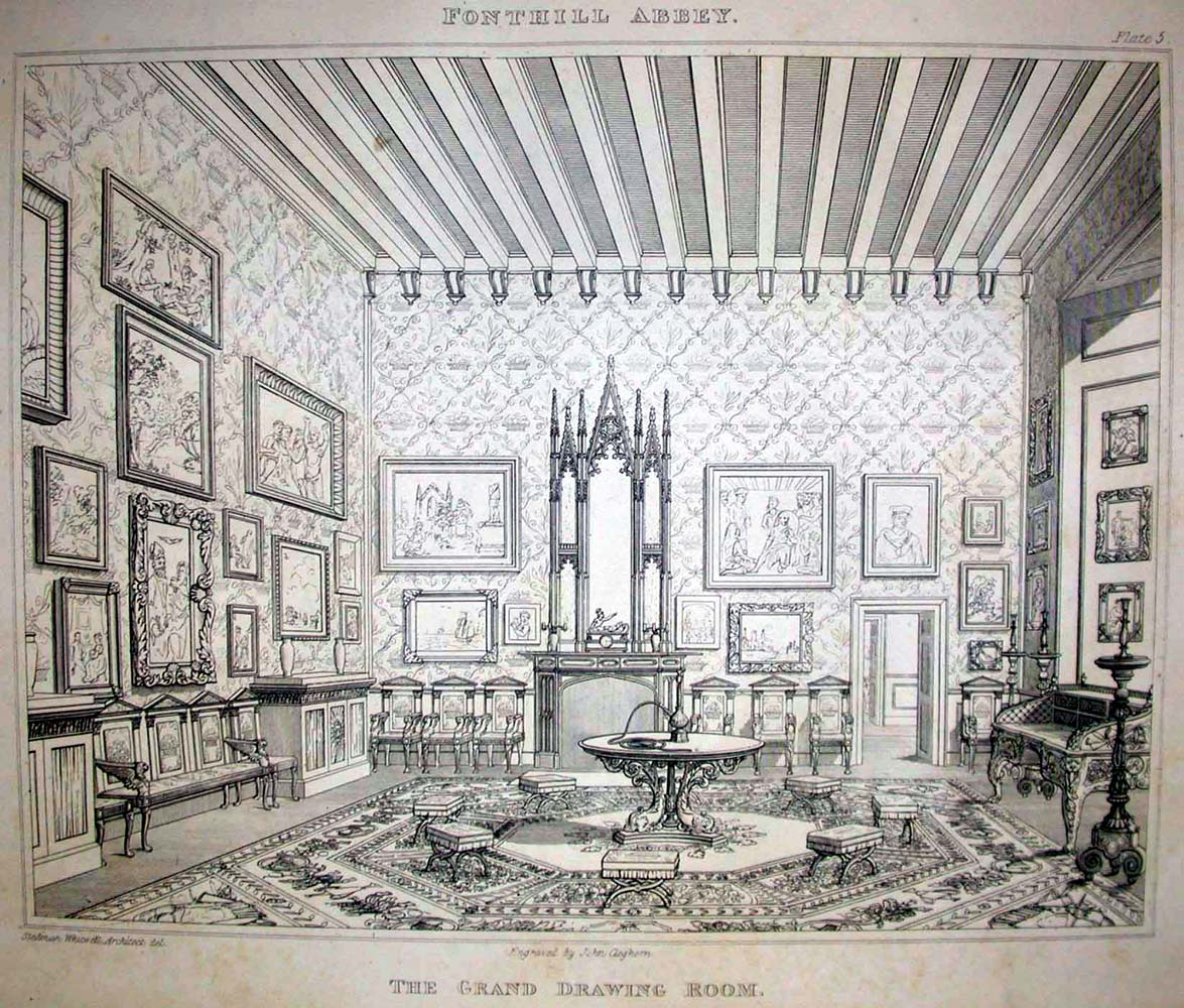 1175x1000 Fonthill Abbey Grand Drawing Room