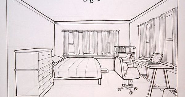 600x315 Room Drawing Perspective