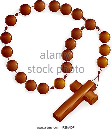 466x540 Rosary Beads Stock Vector Images