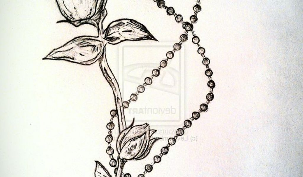 1024x600 Rosary Beads Tattoo Drawing Ideas About Rosary Bead Tattoo