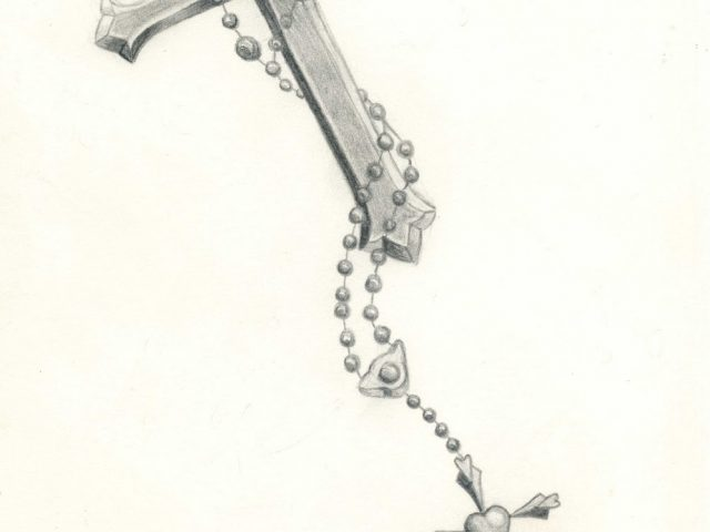 640x480 Rosary Beads Tattoo Drawing Images About Rosary Tarts
