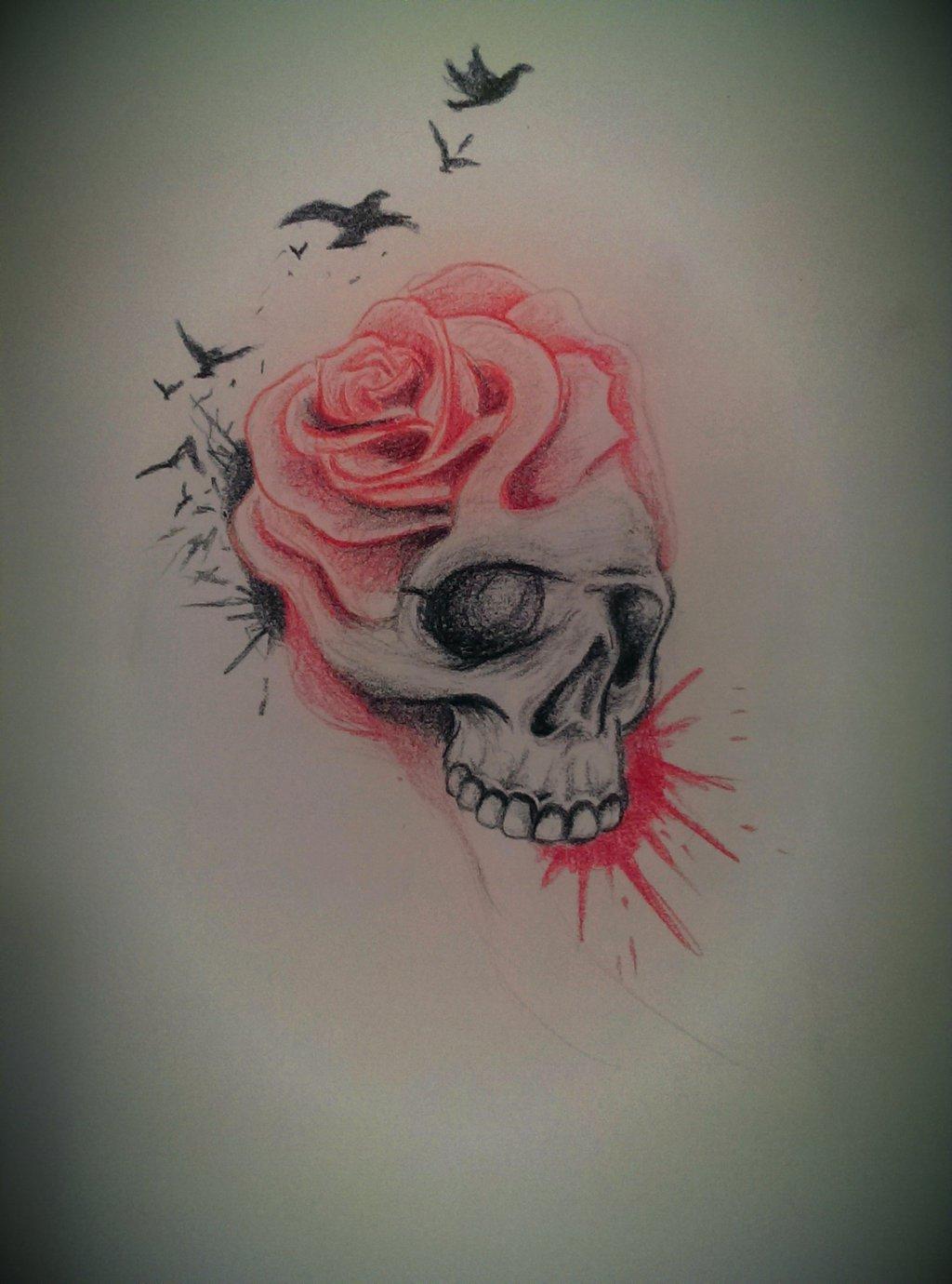 1024x1380 Pin By Roxanne Roxanne On Skullies Rose Sketch