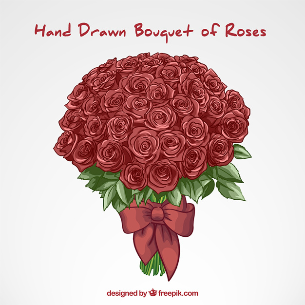 Rose Bouquet Drawing At Getdrawings Com Free For Personal Use Rose