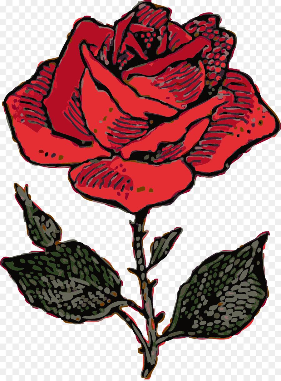 900x1220 Rose Drawing Clip Art