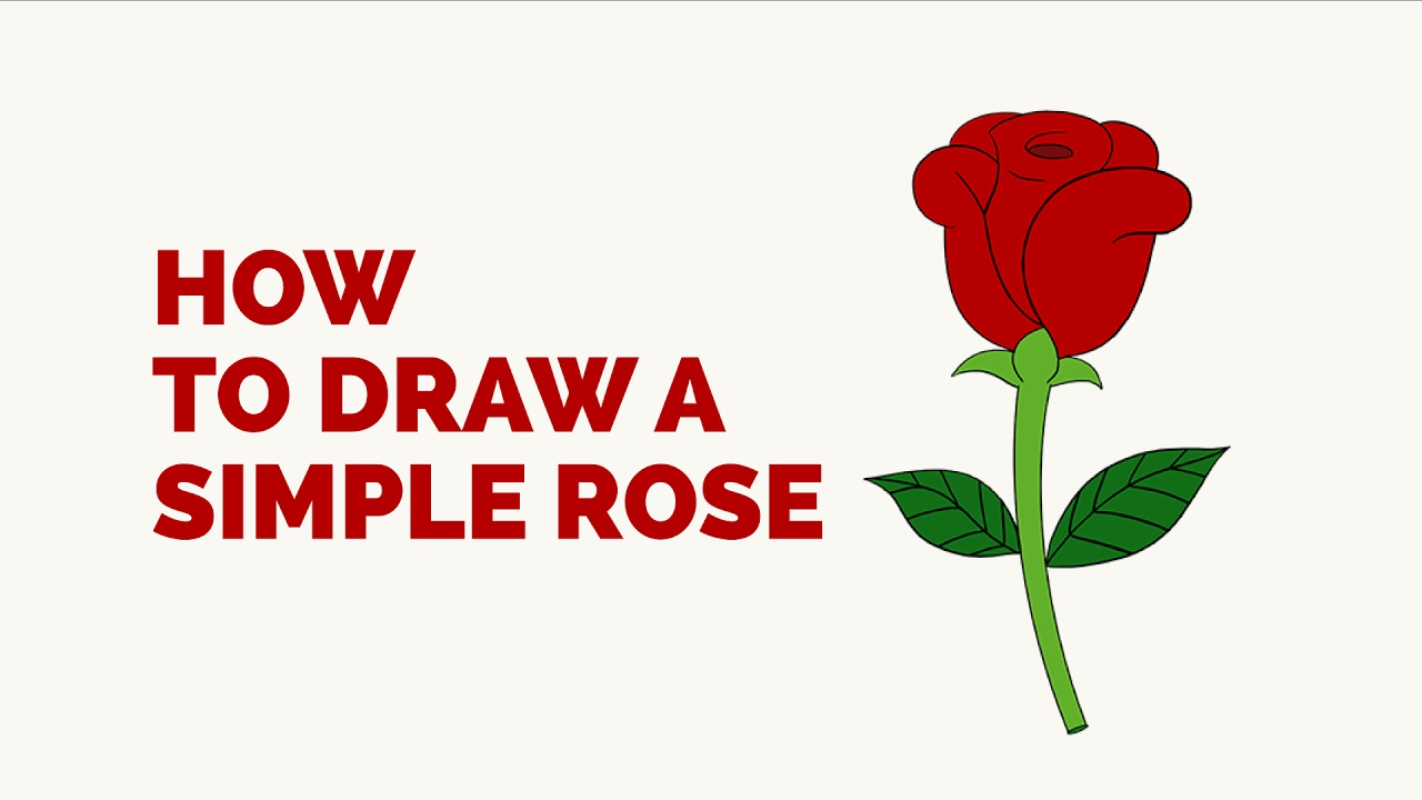 Rose Drawing For Kids at GetDrawings.com   Free for personal use ...