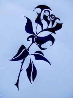 236x314 Easy Rose Drawings