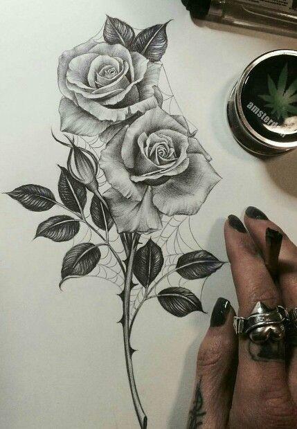 429x620 Want A Rose Tattoo So Bad! Rose Tattoos
