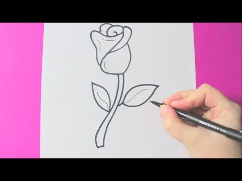 480x360 How To Draw A Rose