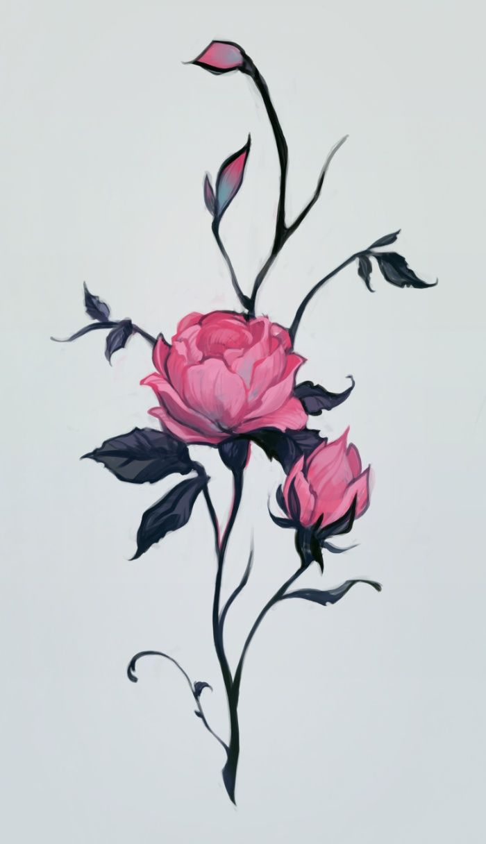 700x1216 Drawing Images Of Rose Flowers Best Rose Drawings Ideas