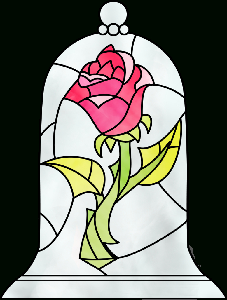 778x1028 Beauty And The Beast Rose Drawing Beauty And The Beast Rose By