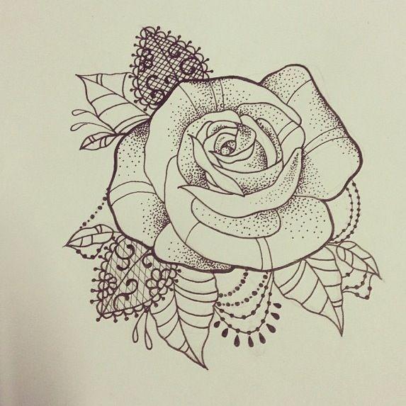 573x573 Image Result For Mandala Rose Leaves Shoulder Tattoo