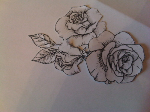 Rose Tattoo Drawing Tumblr At Getdrawings Com Free For Personal