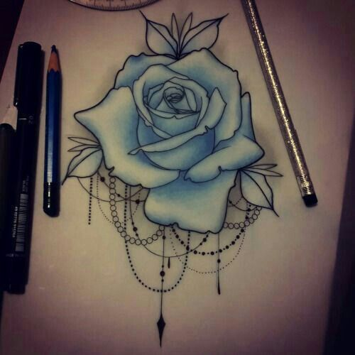 500x500 12 Best Roses Images On Tattoo Ideas, Rose Tattoos