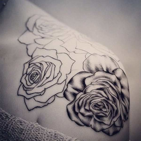 600x600 Rose Tattoo Designs You Will Love To Have