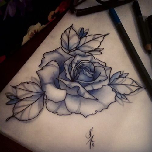 500x500 Rose For Ej ) Always Enjoy Tattooing Roses
