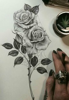 236x341 Want A Rose Tattoo So Bad! Biro Rose Tattoos, Rose