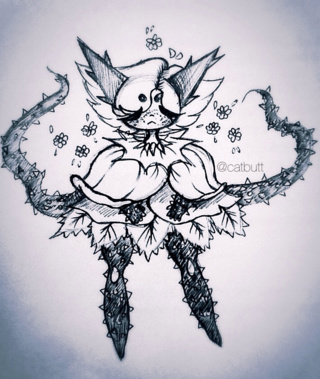 320x379 Thorn Drawings On Paigeeworld. Pictures Of Thorn