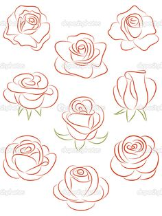 236x314 How To Draw A Rose