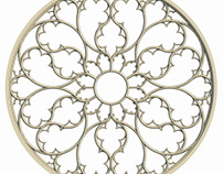 202x158 Gothic Rose Window Tracery On Behance