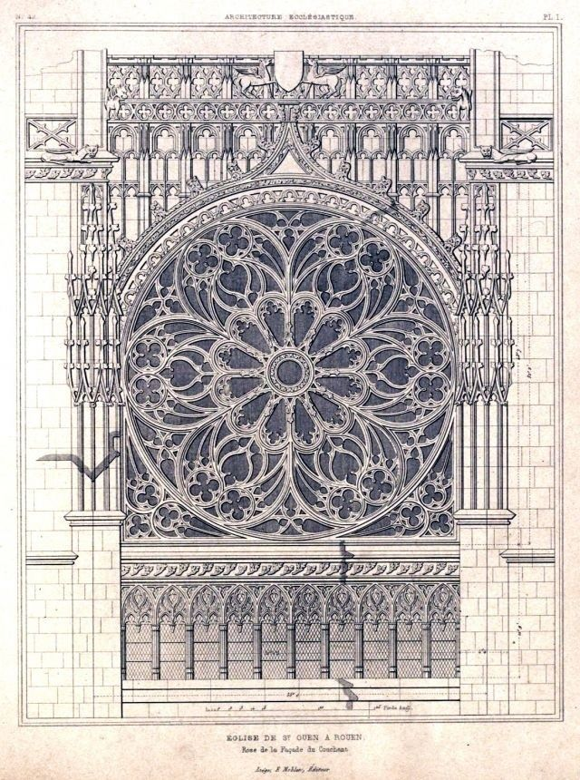 640x860 Architectural Drawing Of Rose Window Rouen Cathedral.jpg