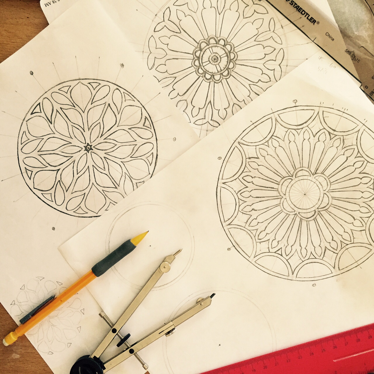 1280x1280 Rose Window Amy Valuck