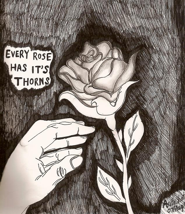 635x735 Rose Thorns By Magicalgirl27