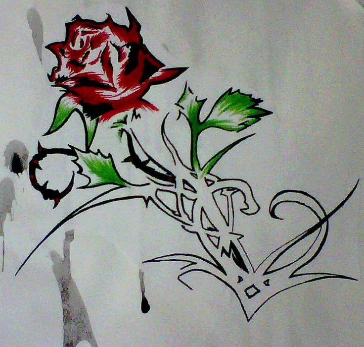 736x700 68 Best Heart Roses Images On Horseshoe Tattoos, Horse