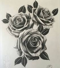 211x239 Image Result For Three Black And Grey Roses Drawing Tattoo Roses