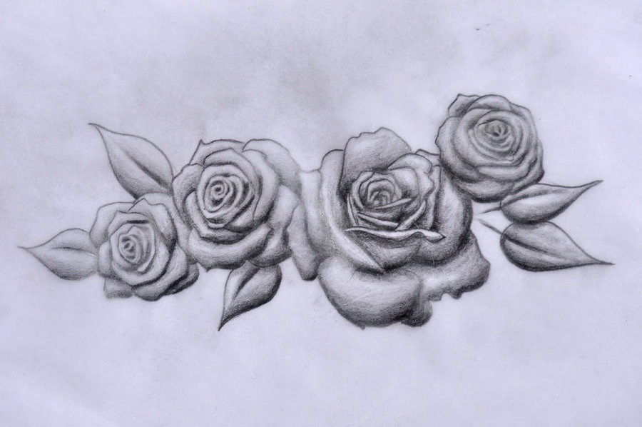 900x598 Roses By Edelweisstattoo