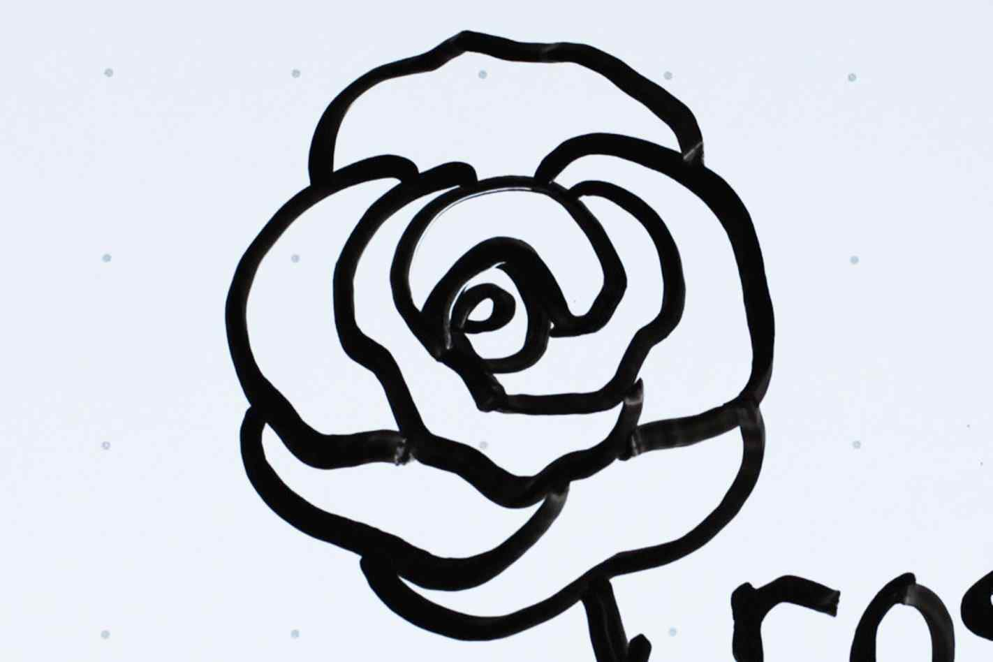 1422x948 A Rose Flower Easy Stepbystep Drawing Lessons For Cartoon Free