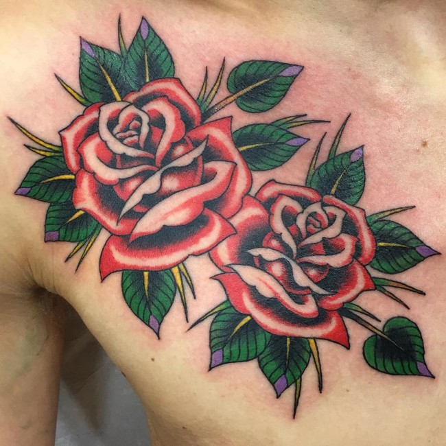 650x650 160 Most Popular Rose Tattoos Designs And Meanings