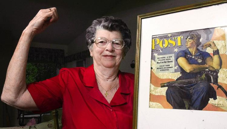 750x428 Rosie The Riveter' Model Dies