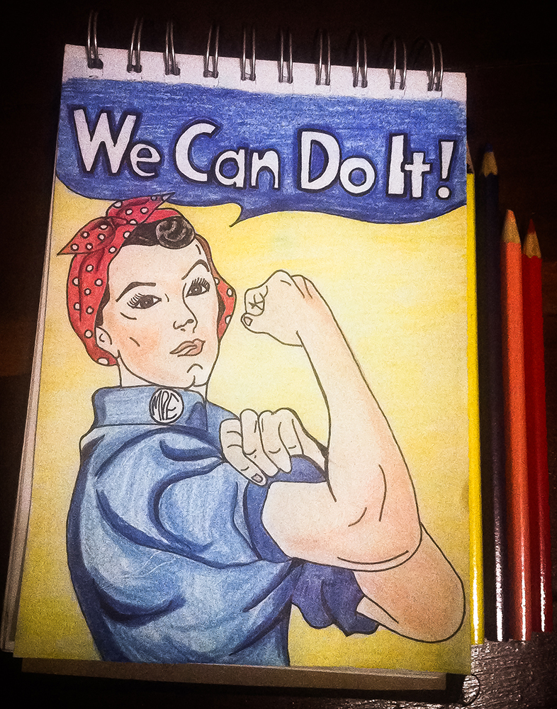 786x1000 Rosie The Riveter