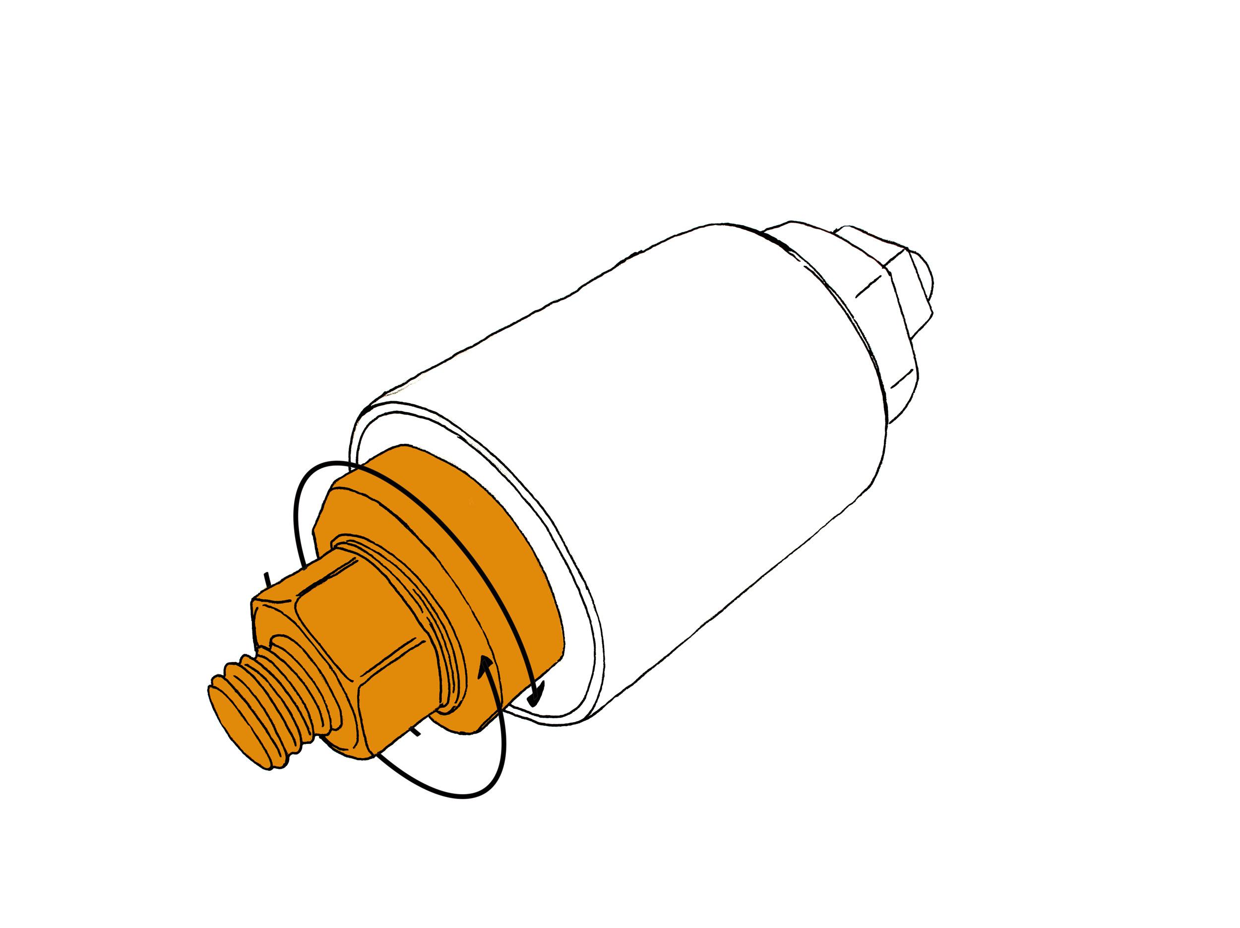 2500x1871 Single Contact Rotary Ground Clamp (Rotocon Mc)