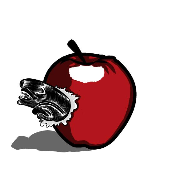 548x586 The Rotten Apple