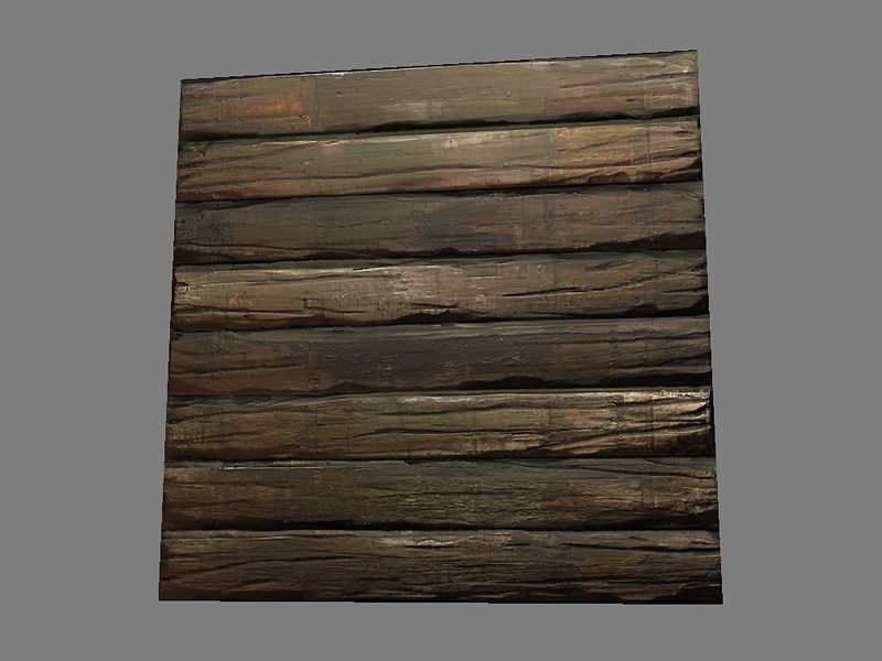 800x600 Create A Rough Wood Texture Using Zbrush, 3ds Max And Photoshop
