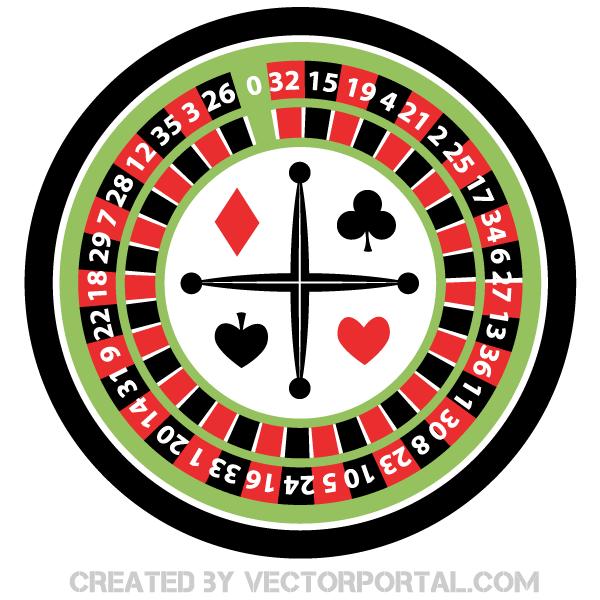 600x600 Casino Roulette Wheel Illustration