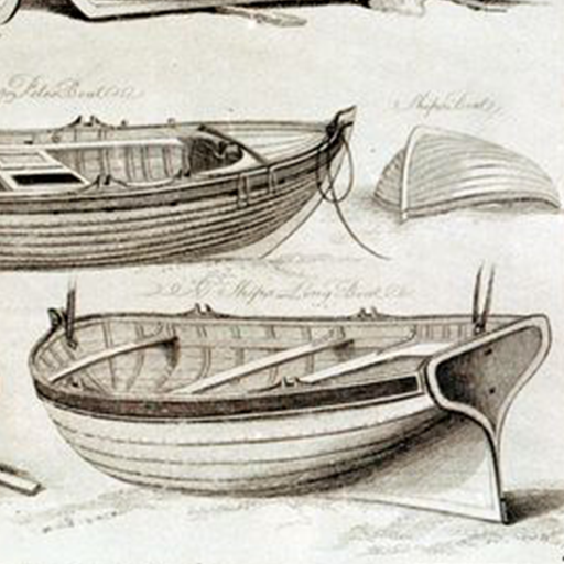 512x512 Boat Building Wooden Boat Plan, Boat Drawing, Fishing