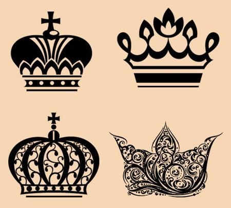 450x405 17 Awesome Crown Tattoo Designs To Let Your Royal Heart Dig