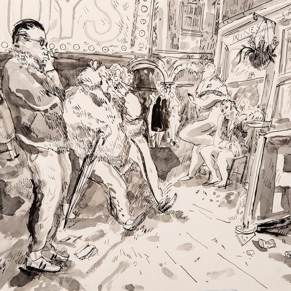 600x600 The Drawing Year End Of Year Exhibition 2015 The Royal Drawing
