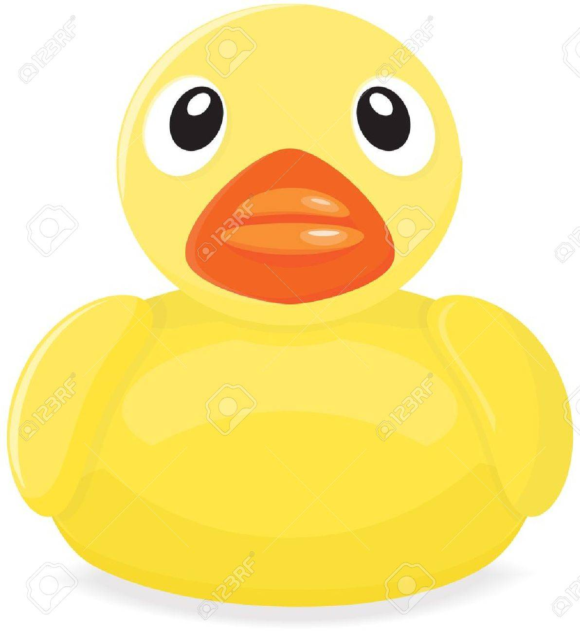 1192x1300 Yellow Rubber Duck Drawing. Royalty Free Cliparts, Vectors,