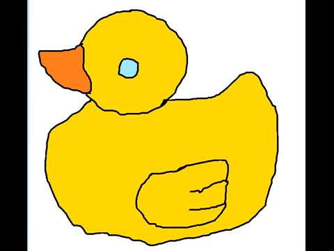 480x360 How To Draw Rubber Duck