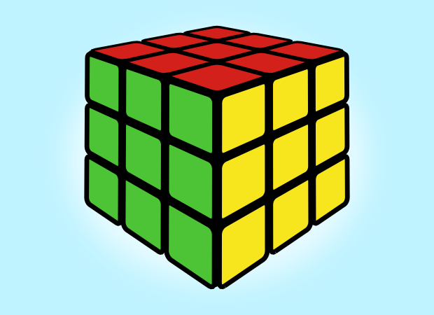 620x450 How To Draw A Rubik's Cube In Inkscape Inkscape, Gimp